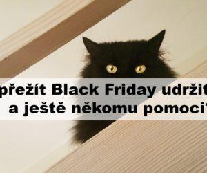 Jak přežít Black Friday udržitelně a ještě někomu pomoci?