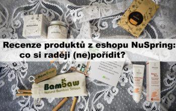 Recenze produktů z eshopu NuSpring: co si raději (ne)pořídit?