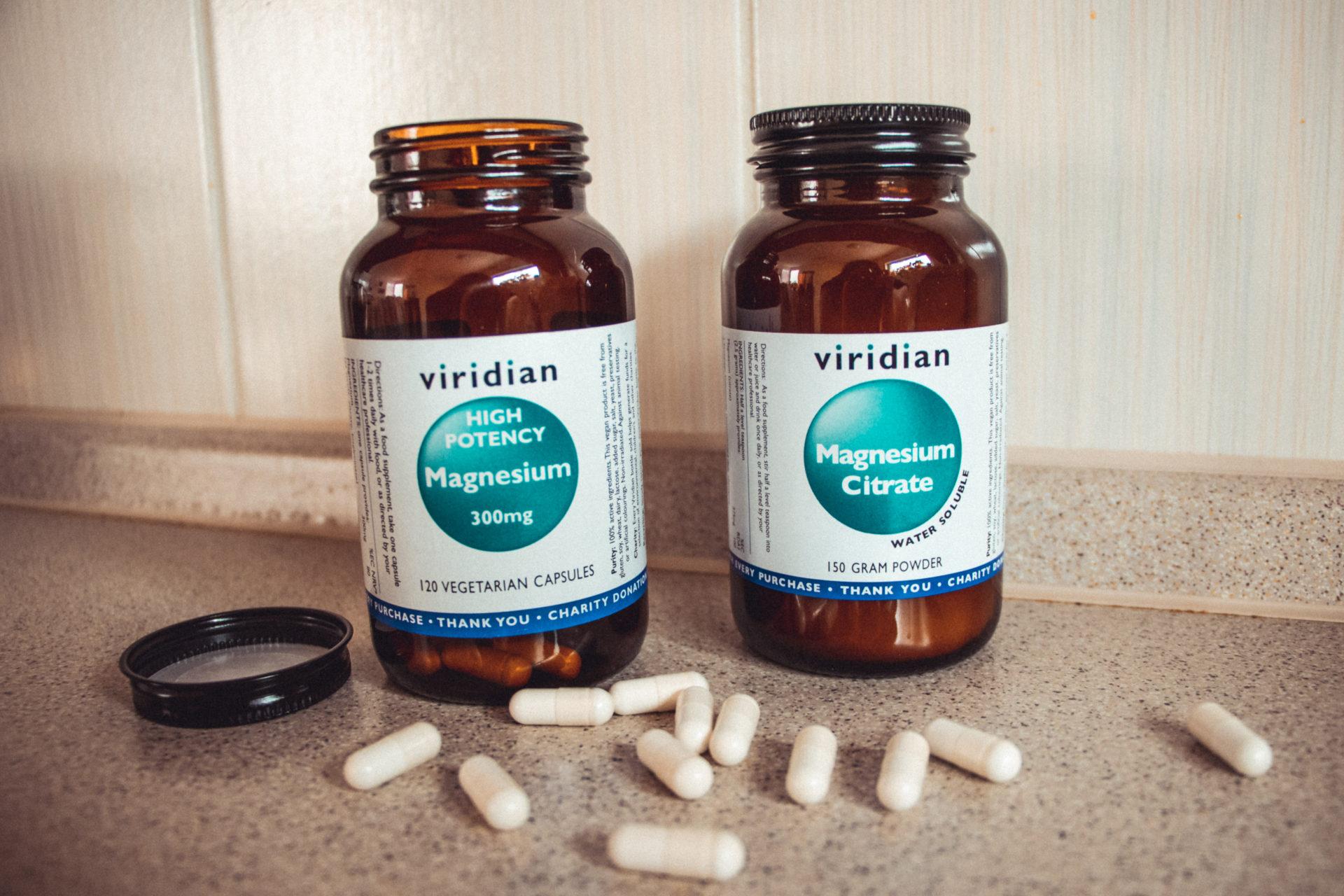 Vitamínový doplněk hořčík